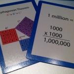 Educational Math Game Playing Card Game