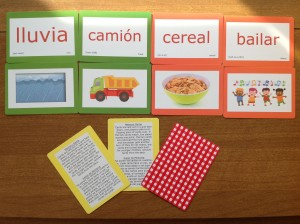Spanish English Educational Playing Cards