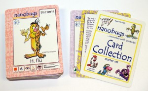 educational nanobugs card game